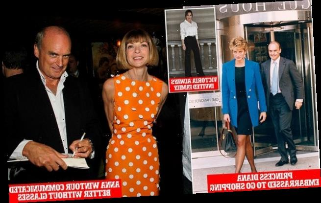 Nicholas Coleridge says Princess Diana would try on clothes at Vogue