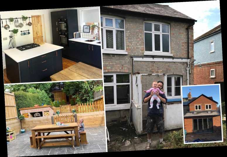 Dad transforms two-bed house by himself in a year – and it's now worth £175k MORE