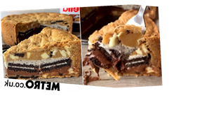 Baker shares easy recipe for drool-worthy Oreo and Nutella cookie pie