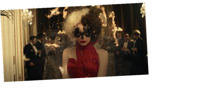 Emma Stone Sets Her Gown and Twitter on Fire in 'Cruella' Trailer