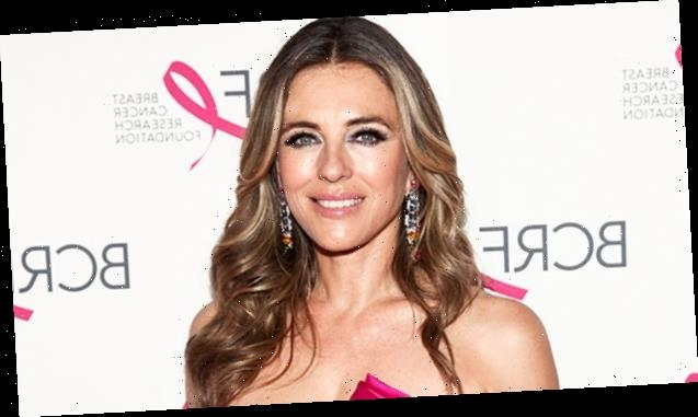 Elizabeth Hurley, 55, Stuns As She Goes For A Dip In A Leopard Bikini — See Pic