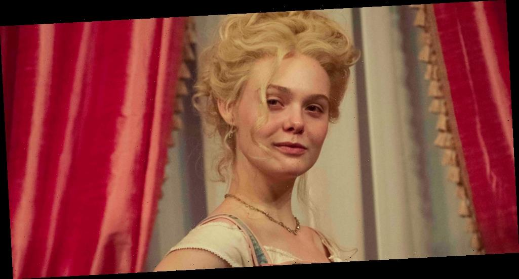 Elle Fanning Bares Pregnant Belly In First Image From 'The Great' Season Two