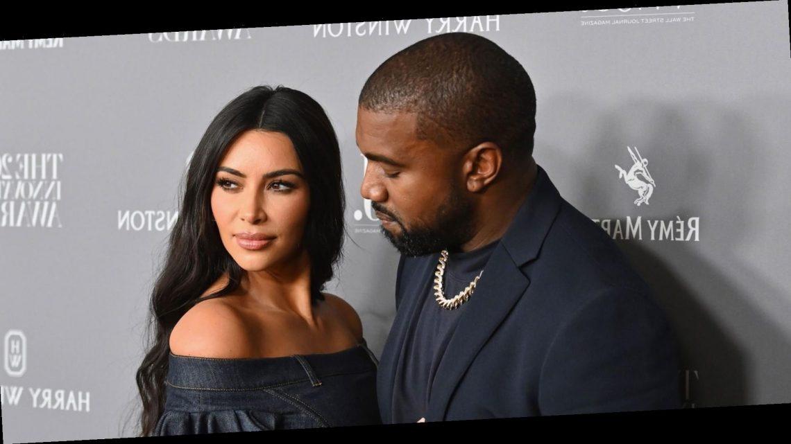 "Kanye West Is ""Not Doing Well"" Amid Split from Kim Kardashian"