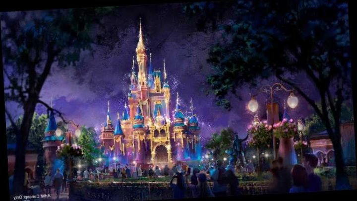 Disney World to Give Cinderella Castle and Other Park Landmarks a Makeover for 50th Anniversary