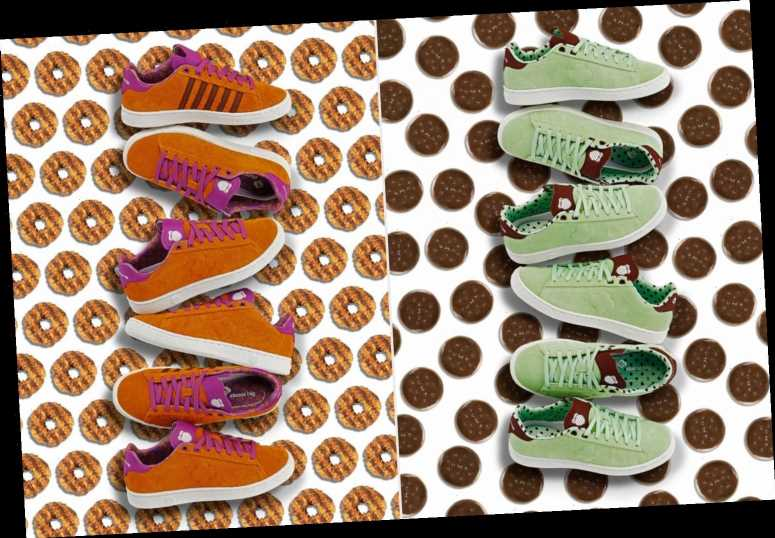 Girl Scout Cookie Sneakers Are Coming to Make Your Shoe Game a Whole Lot Sweeter