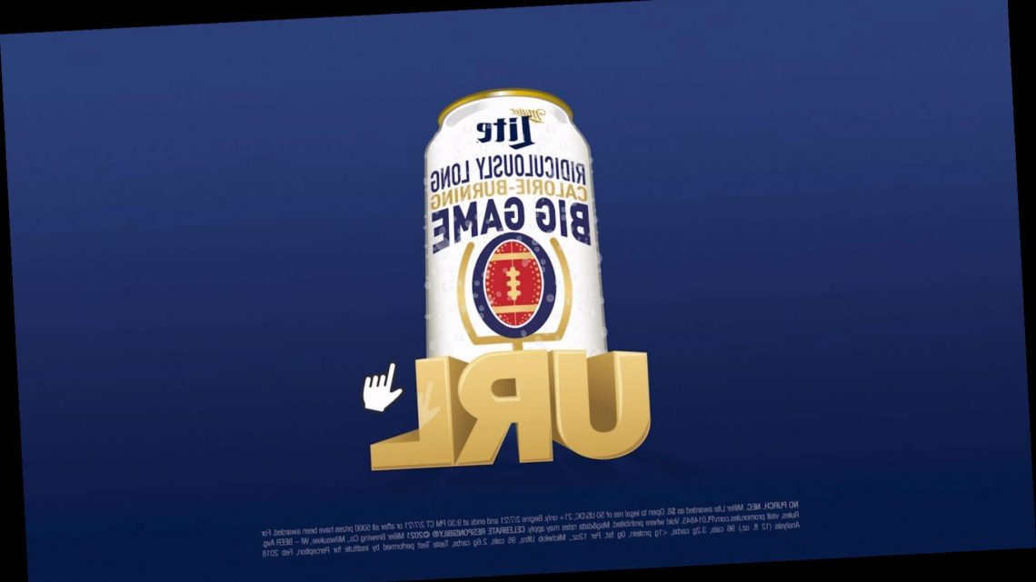 Miller Lite Will Venmo You $8 on Super Bowl If You Type This Crazy Long, Calorie-Burning URL