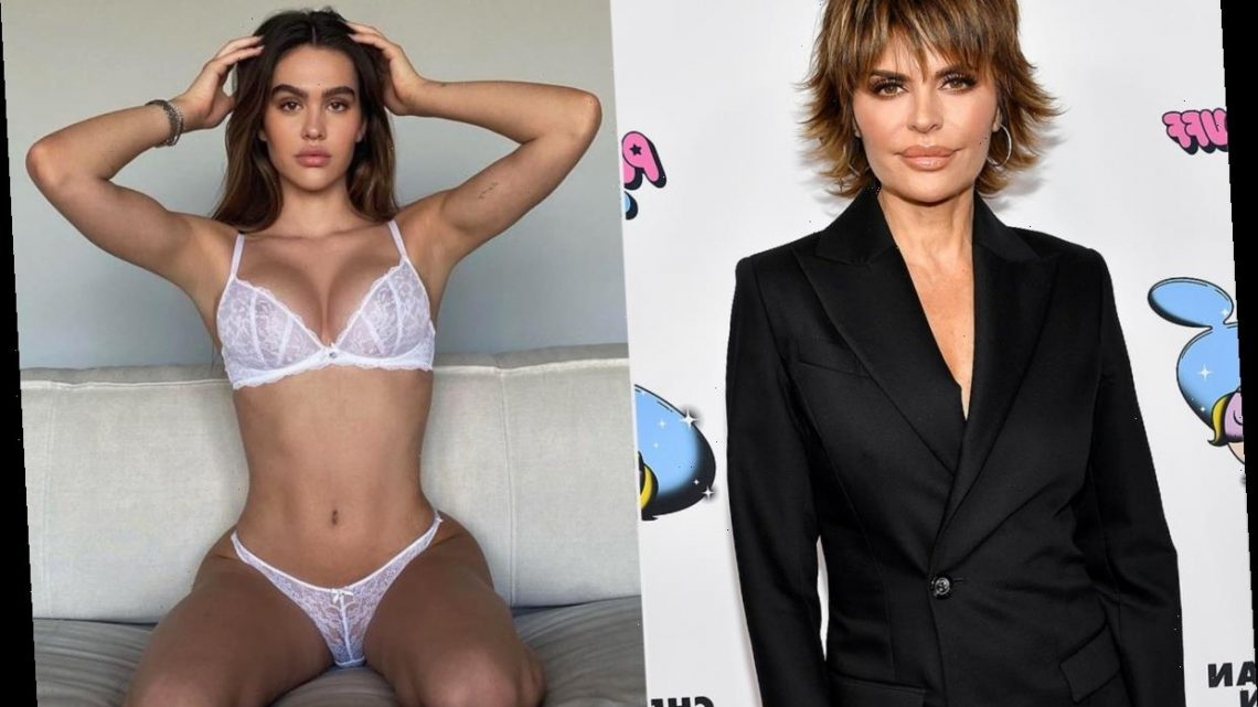 Lisa Rinna Claps Back at Troll Who Called Daughter Amelia Hamlin's Lingerie-Clad Pics 'Disgusting'