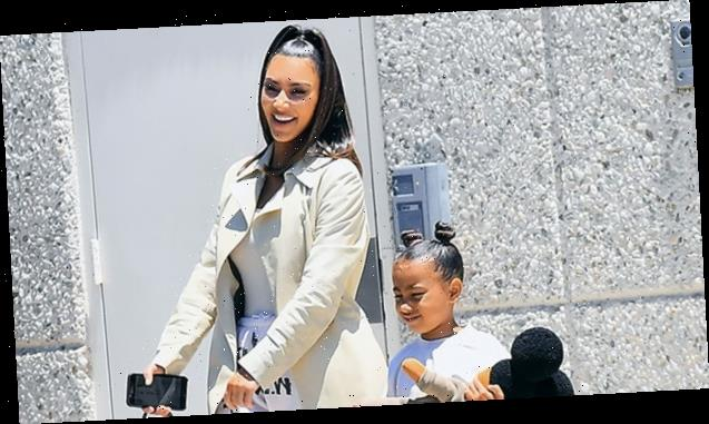 North West Writes Mom Kim Kardashian A Love Note On Roll Of Toilet Paper In Hilarious New Photo