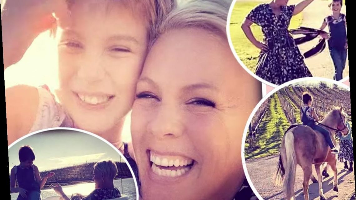 Pink's Daughter Shows Off Beautiful Voice In New Duet Cover Me In Sunshine — Listen!