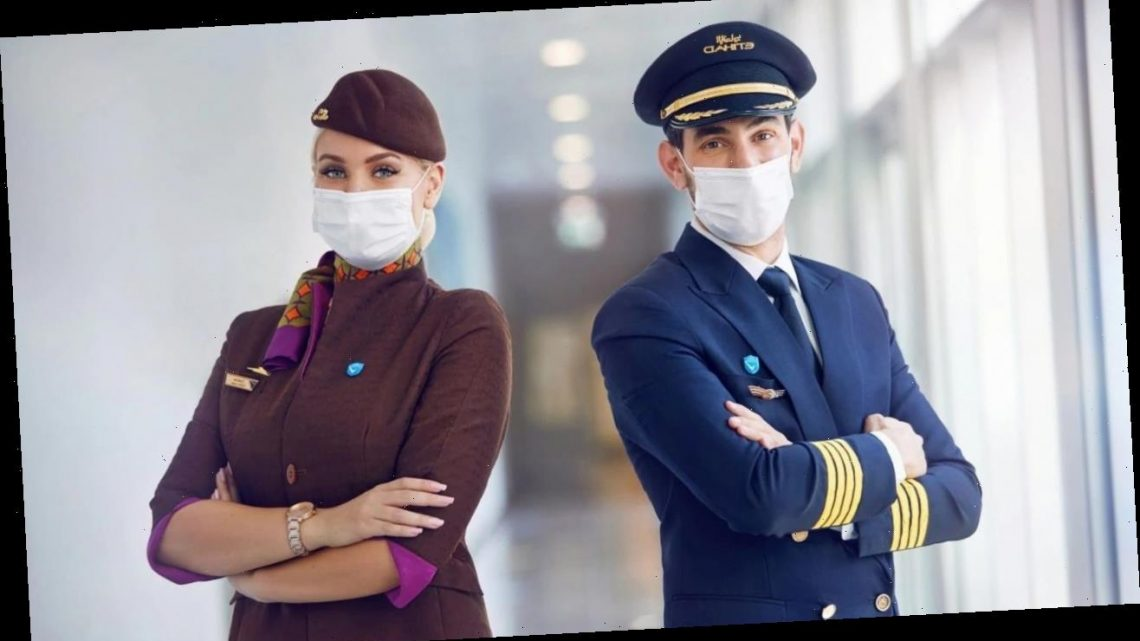 Etihad Airways claims to have world's first fully vaccinated onboard crew