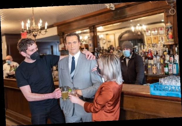 Iconic New York steakhouse Peter Luger fills empty dining room with celebrity wax figures