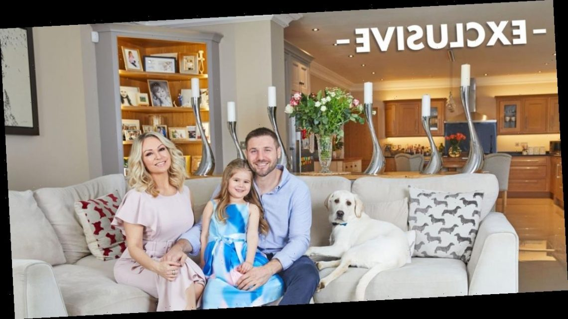 Inside Ben Cohen and Strictly Come Dancing star Kristina Rihanoff's incredible home with zip-line and huge forest