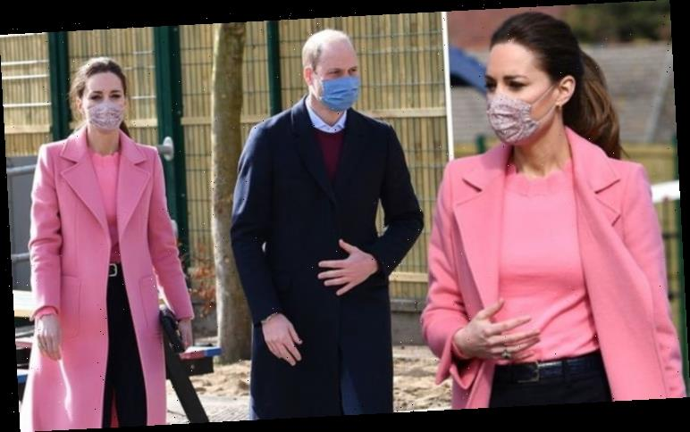 Kate Middleton & William 'tight as ever' in first outing since Meghan & Harry interview