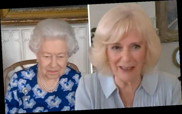 Camilla 'closed down' by Queen in call with expert claiming there is 'frost' between them