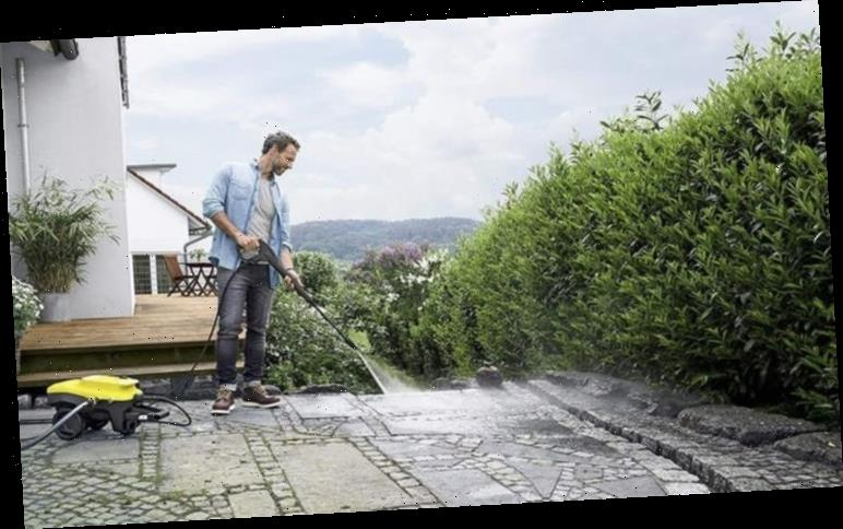 Best selling pressure washers to leave your patios looking pristine