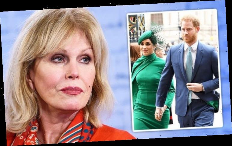 Joanna Lumley unveiled Royal Family secrets before 'ghastly' Meghan and Harry snub