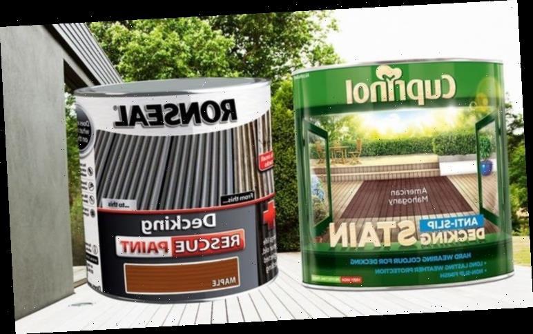 Best decking paint – Ronseal vs Cuprinol go head to head in customer reviews