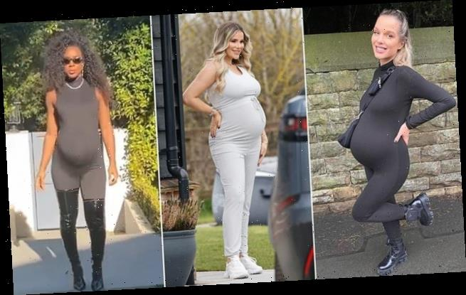 'Bumpsuit' maternity wear is a hit after pregnant celebrities wear it
