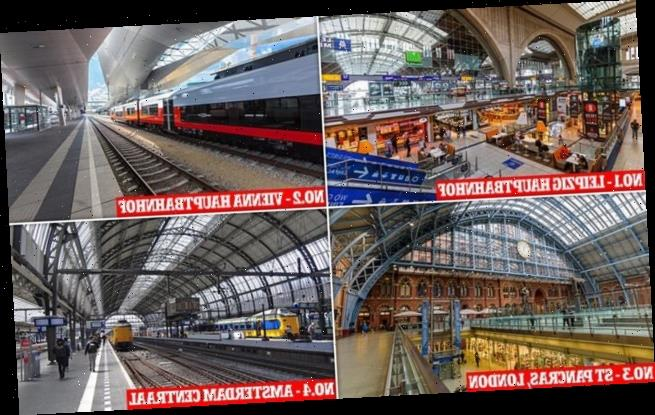 St Pancras loses its crown as the best railway station in Europe