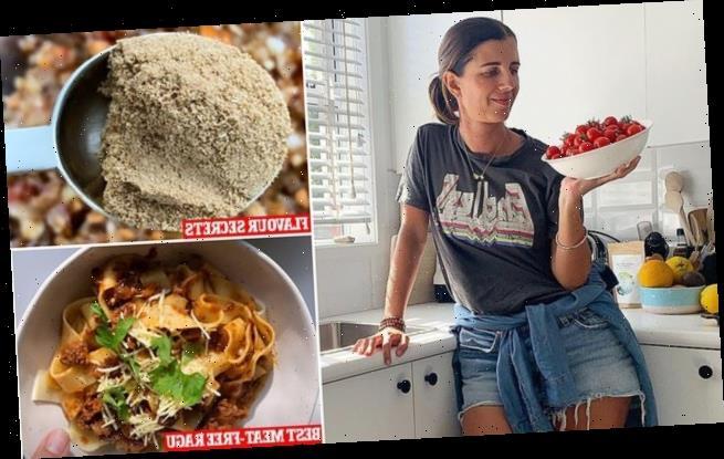 Healthy mum reveals the hearty meat-free ragu recipe she swears by