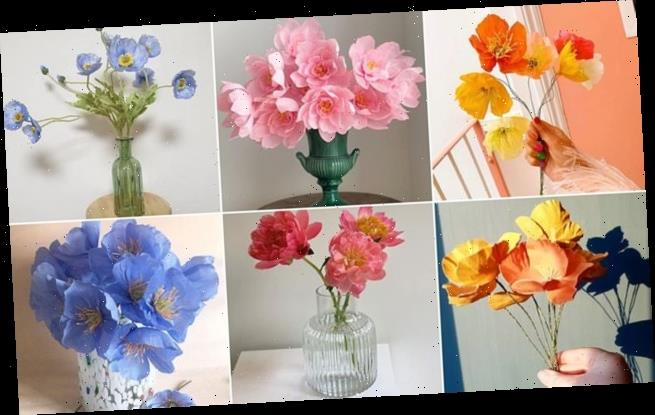 Can YOU spot the real flowers from the fake ones?
