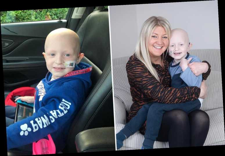 Help brave Ollie Sweeney, four, get life-saving cancer treatment he desperately needs