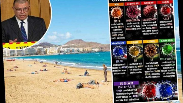 More fears for Brits' summer holidays abroad as JVT says 'great uncertainty' as EU so far behind vaccine rollout