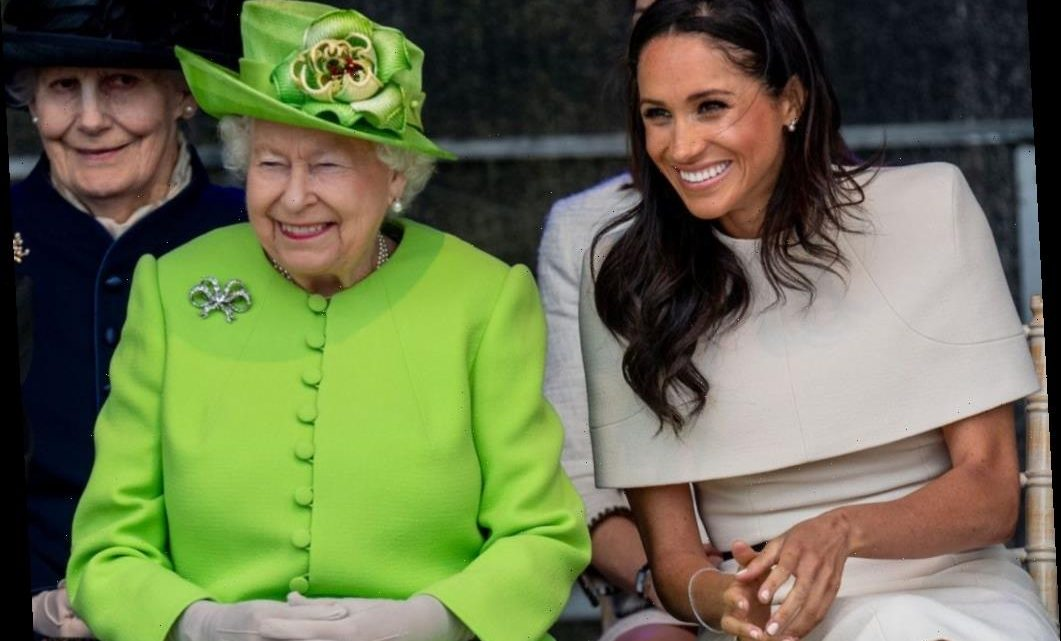 Meghan Markle's Relationship With the Queen May Have Been Worse Than She Let On, Body Language Expert Says