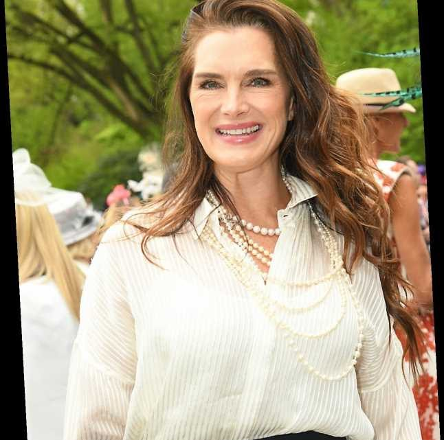 Brooke Shields broke her femur and had to relearn how to walk