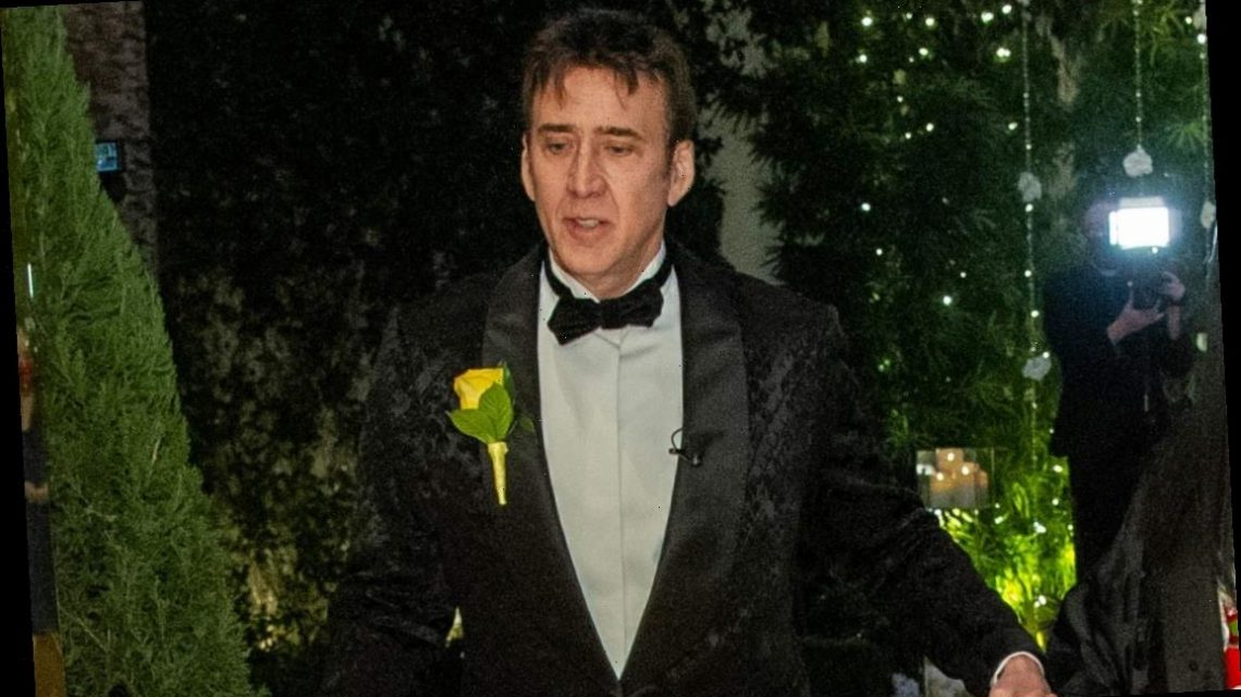 Nicolas Cage Shares Photos from Las Vegas Wedding with New Wife Riko Shibata