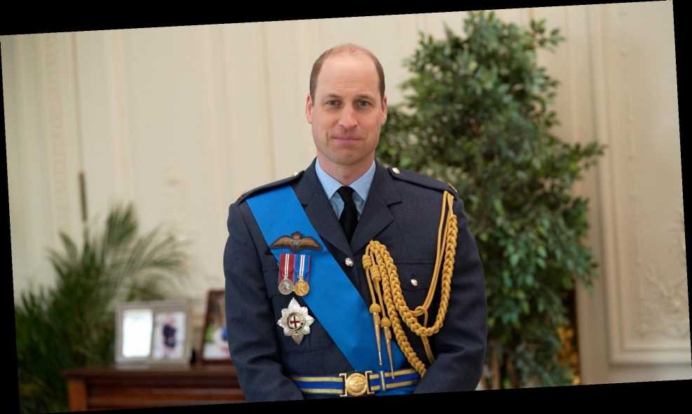 Prince William Wears His Military Uniform to Celebrate 100 Years of the Royal Australian Air Force