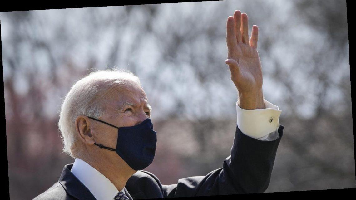 Jen Psaki Offers A New Explanation For Joe Biden's Air Force One Spills