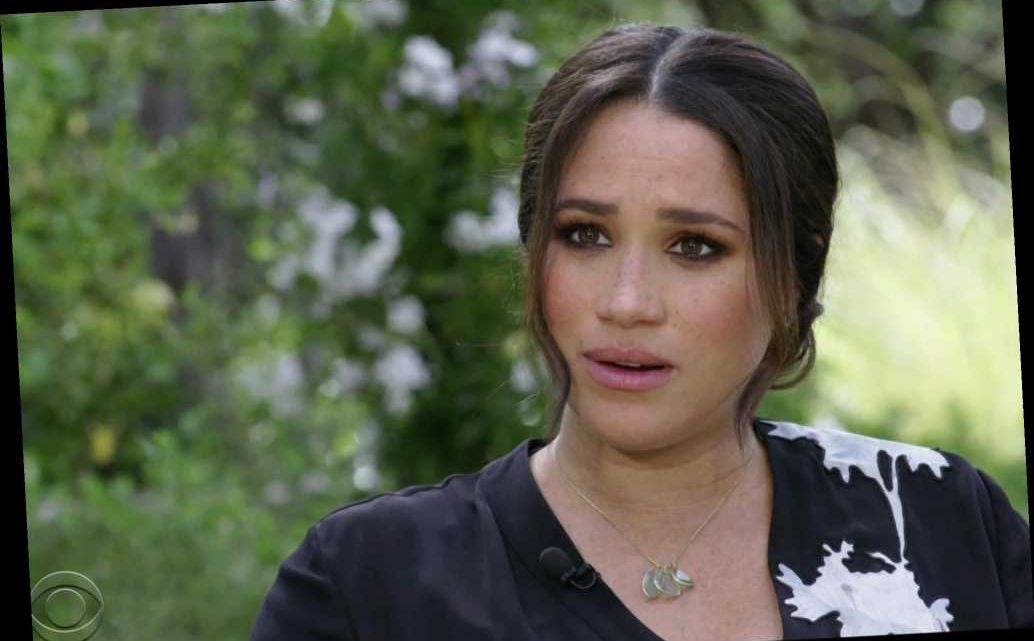 Meghan Markle: I had suicidal thoughts, 'just didn't want to be alive anymore'