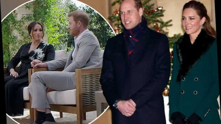 William and Kate dread getting mixed up in Harry and Meghan's 'soap opera'