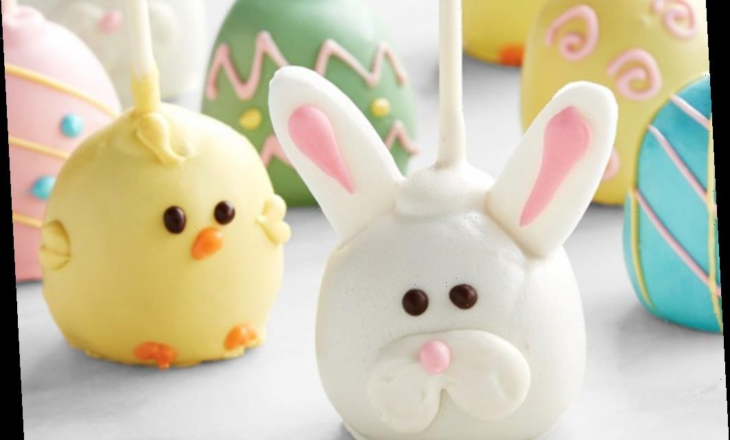 These Williams-Sonoma Easter Bunny Cake Pops Are Too Cute To Pass Up