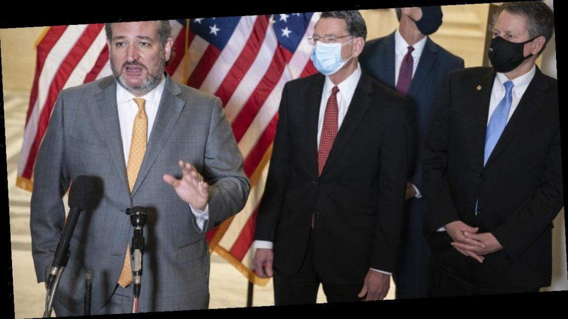 """""""You're welcome to step away"""": Senator Ted Cruz refuses to put on mask after reporter asks during press conference"""