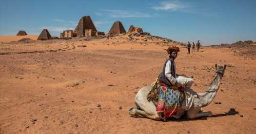 Glimpses of Sudan's Forgotten Pyramids