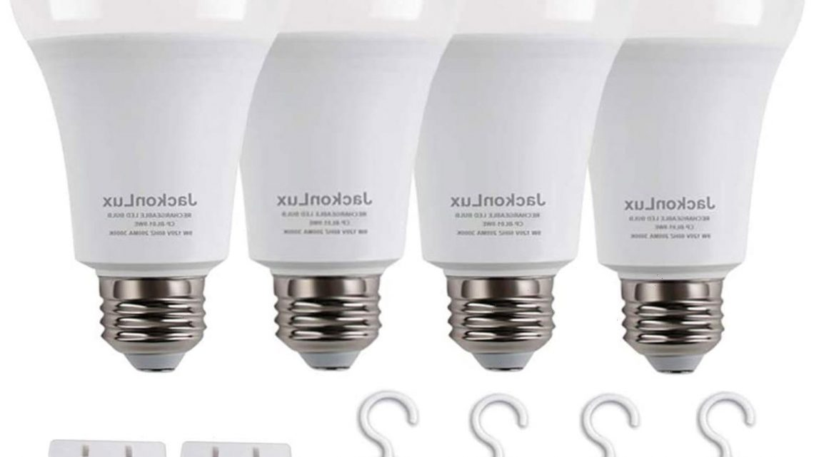Amazon Shoppers Are Flocking to Buy These Rechargeable Light Bulbs
