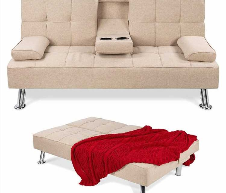 Amazon's Best-Selling Convertible Sofa Is Perfect for Smaller Spaces — and It's Just $250