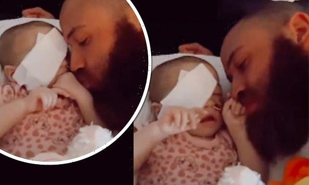 Ashley Cain dotes on baby daughter Azaylia in poignant video