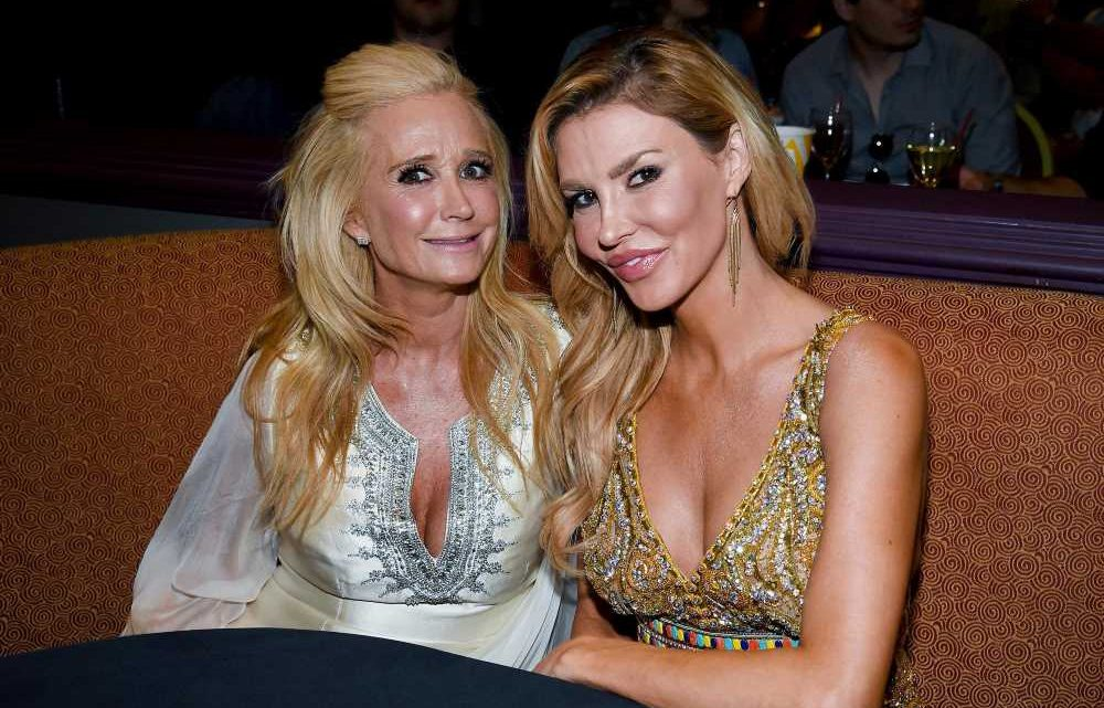 Brandi Glanville hasn't heard from Kim Richards since New Year's Eve