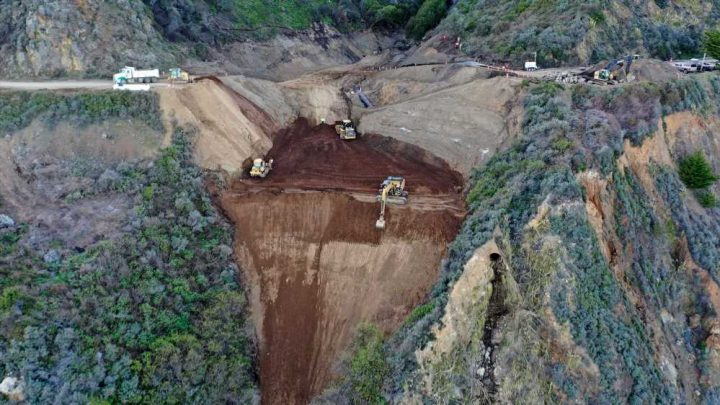 California's iconic Highway 1 to reopen ahead of schedule after mudslide damage