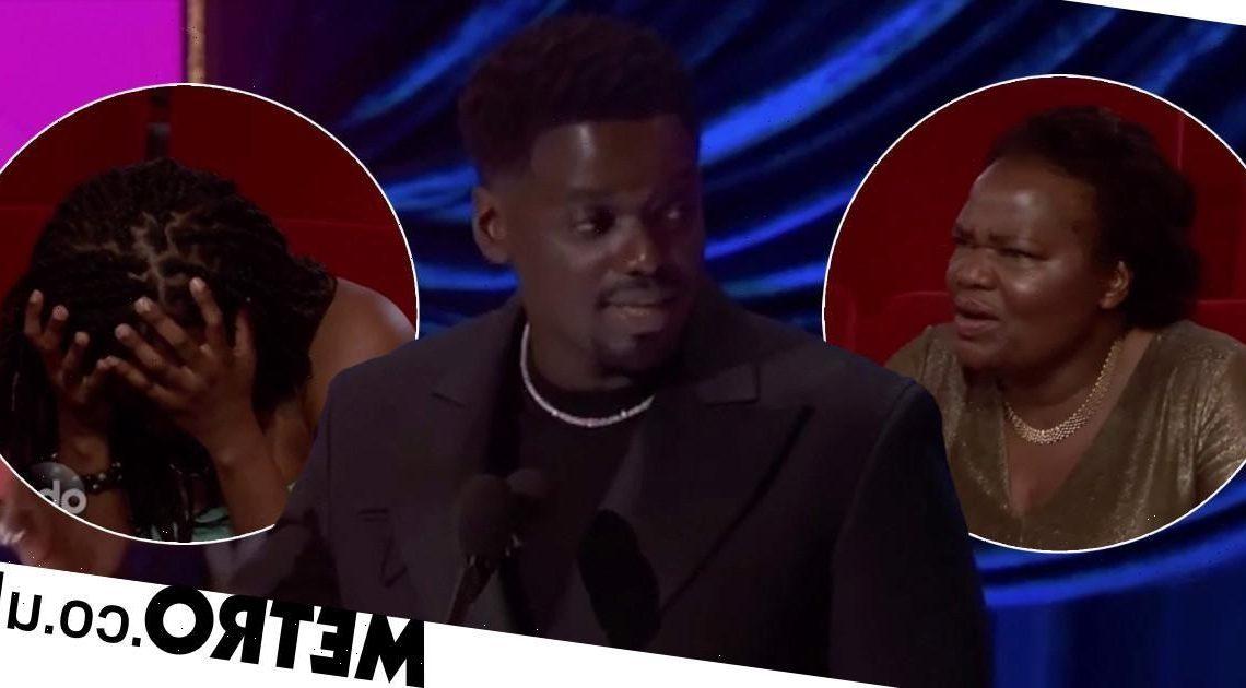 Daniel Kaluuya risks wrath of mother with hilarious Oscars moment