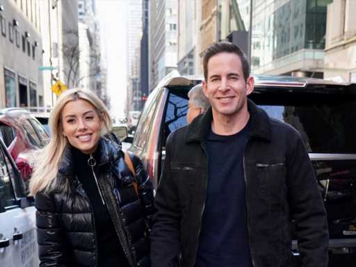 Heather Rae Young & Tarek El Moussa's Engagement Party Looks So Dreamy