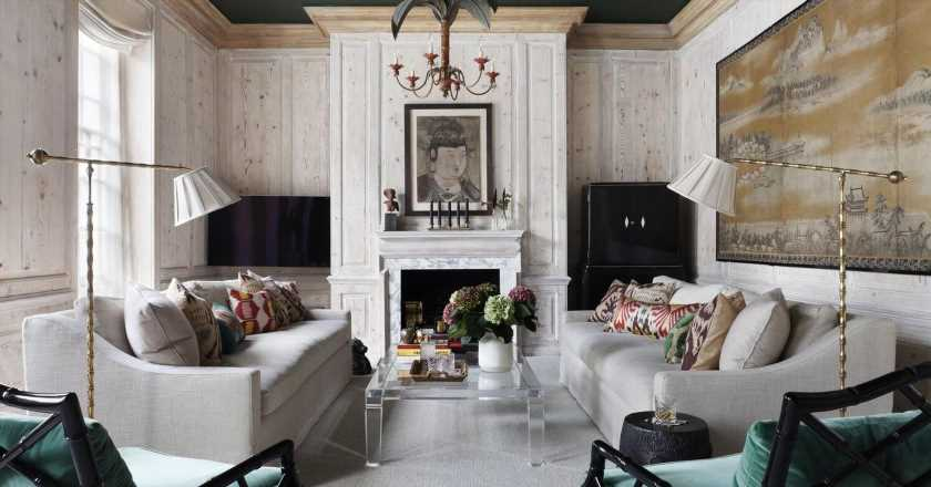 How to try the painted ceiling trend, according to an interior designer