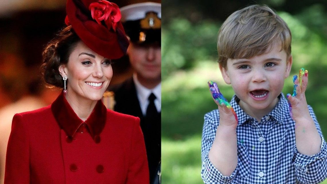 Prince Louis Smiles in Precious Pic for His 3rd Birthday