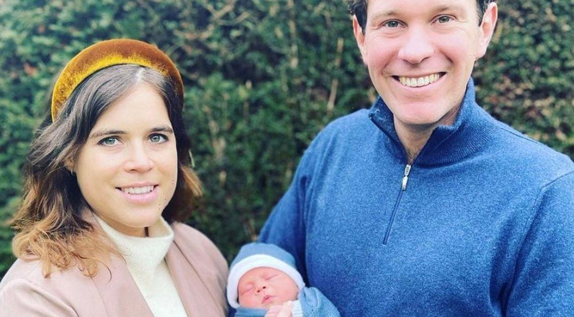 Princess Eugenie discusses 'joy and love' her son August has brought her in handwritten letter