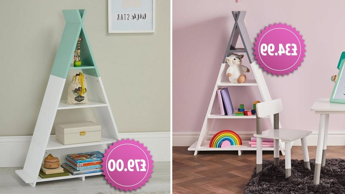 Savvy shoppers are obsessed with Aldi's Tipi bookcase dupe that's £45 cheaper than the Very version