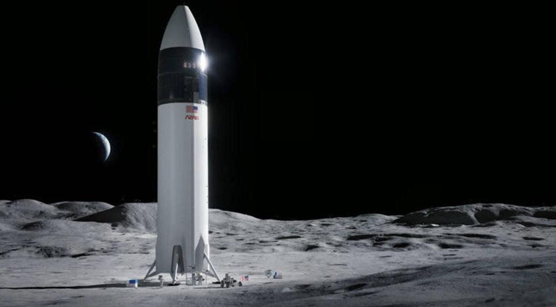 SpaceX wins $2.9 billion contract to build moon lander for NASA's Artemis program