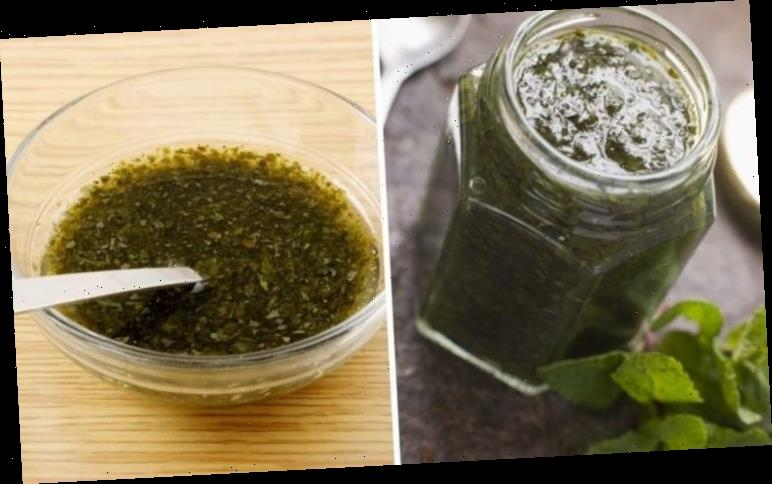 Mint sauce recipe: How to make mint sauce for your lamb roast